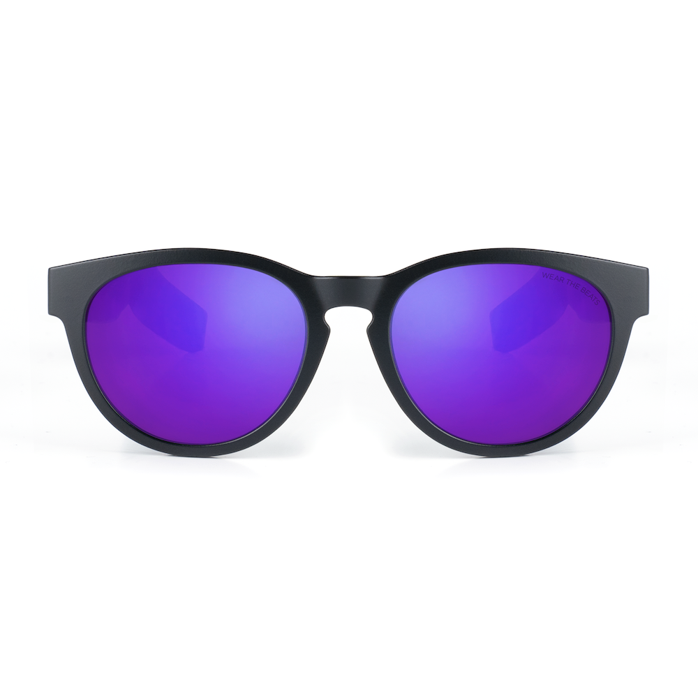 MATTE BLACK - ZUNGLE, LYNX - Bluetooth Sunglasses