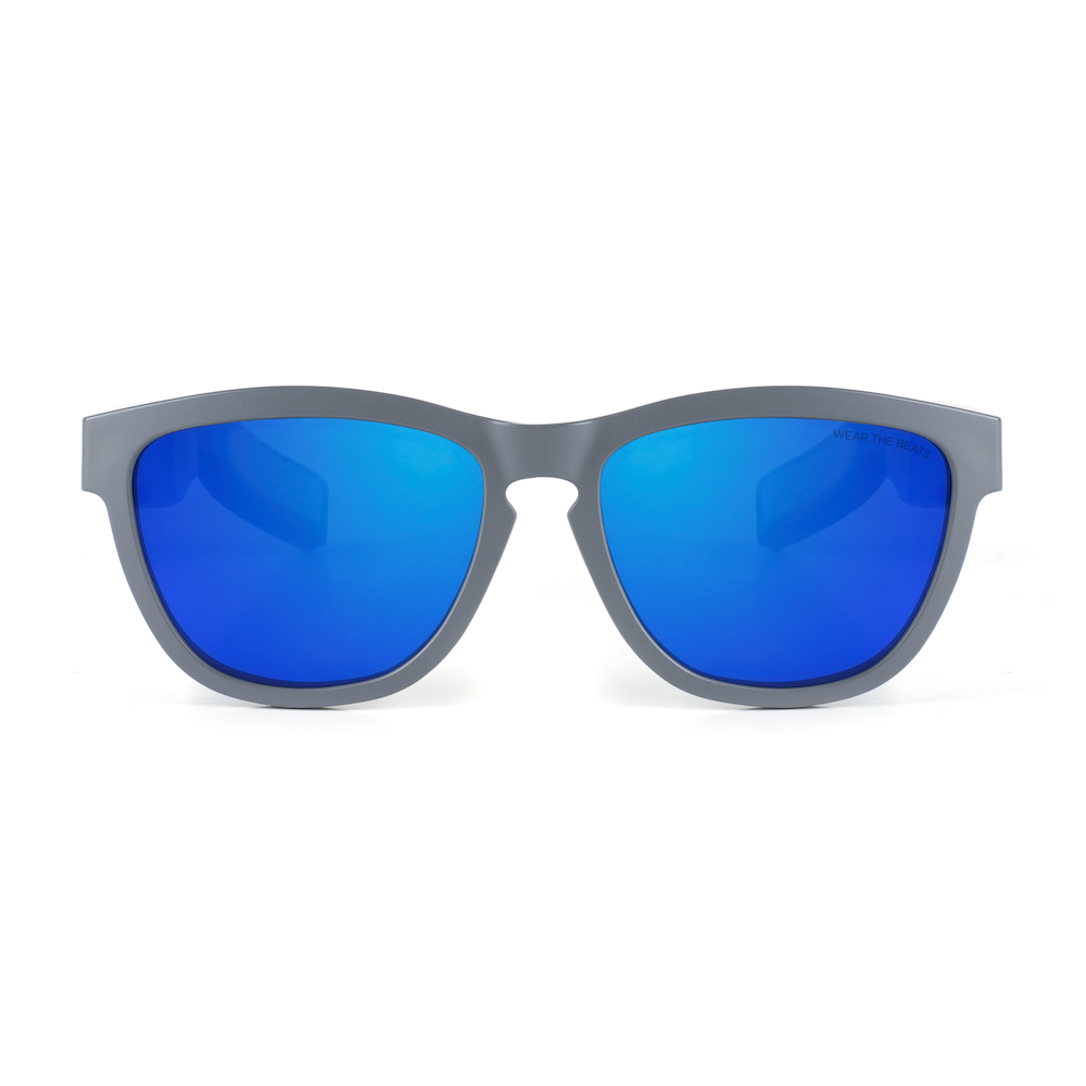 MATTE GRAY - ZUNGLE, VIPER - Bluetooth Sunglasses