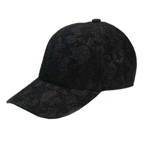 Cap Adjustable Stars Printing Lace