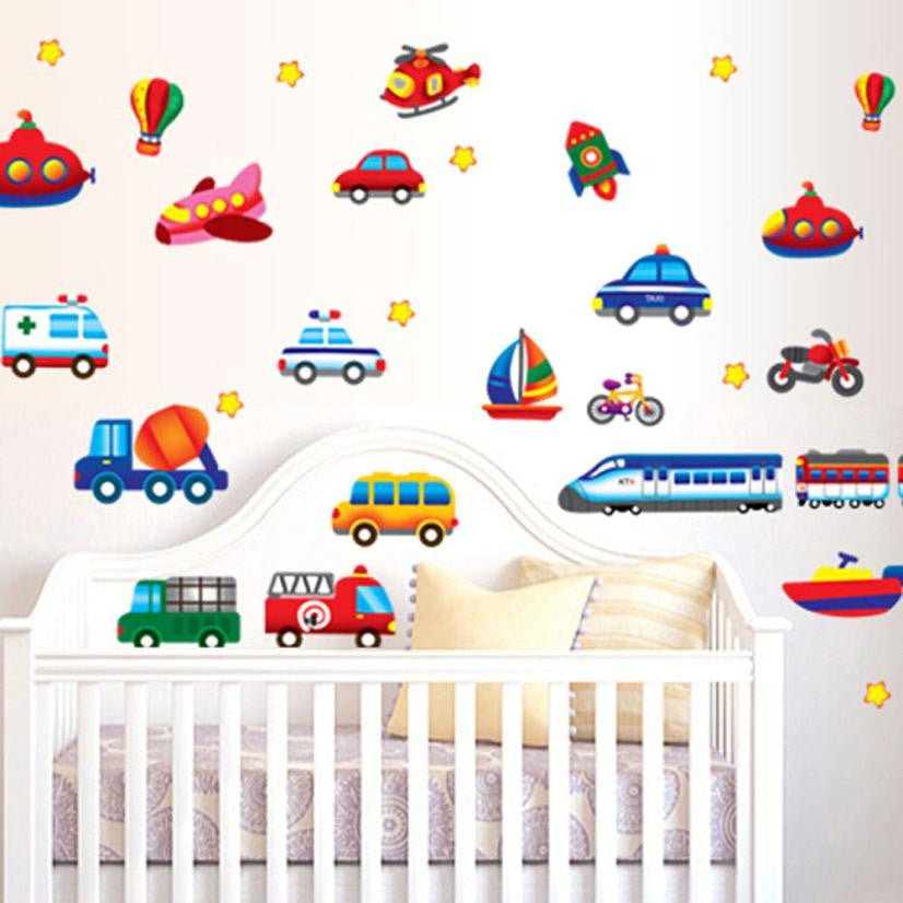 Cars  removable wall stickers - Rustecor (Home Decor Items)