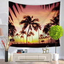 """PARADISE"" Hanging Tapestry (Sandy Beach) 2 Sizes - Rustecor (Home Decor Items)"