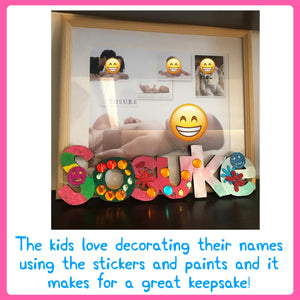 Name Plaque DIY Art Kit