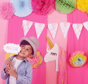 Ruby Buttercup, the Magical Unicorn -Photo Booth Box