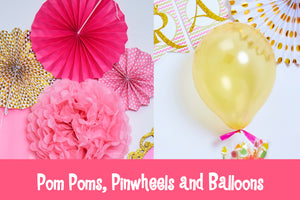 Princess Mia's Royal Party - Decor Box
