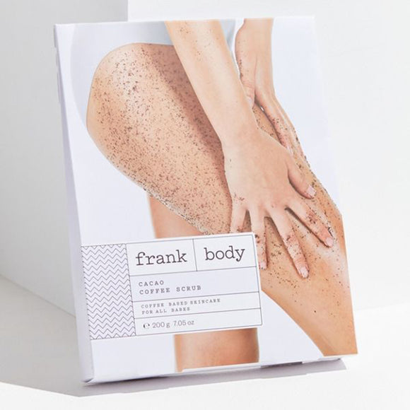 FRANK BODY Cacao Coffee Scrub - 220g