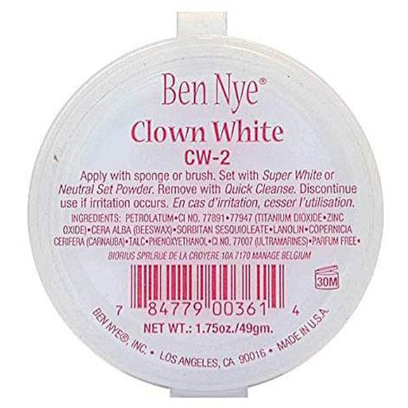 Ben Nye CW Series Clown White CW-2 1.75 oz