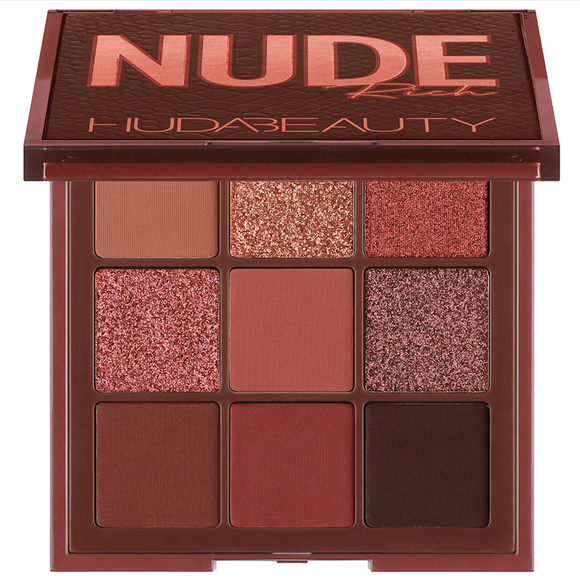 HUDA BEAUTY Nude Obsessions Eyeshadow Palette - Nude Rich