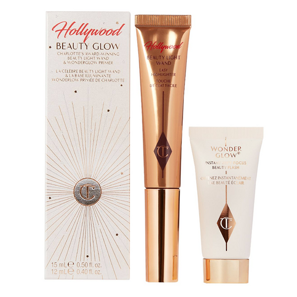 CHARLOTTE TILBURY Hollywood Beauty Glow Set( 15ml, 12ml )