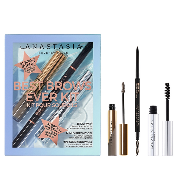 ANASTASIA BEVERLY HILLS Best Brows Ever Kit (Limited Edition) - see colors inside