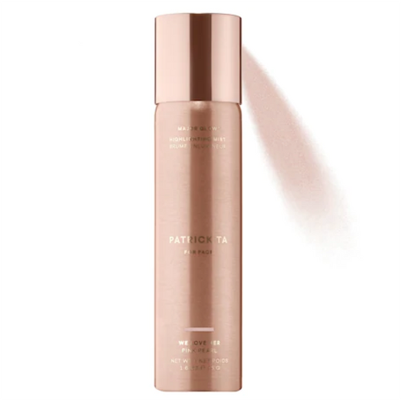 PATRICK TA Major Glow Highlighting Mist - Pink Pearl