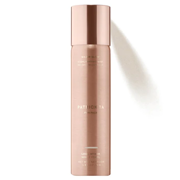 PATRICK TA Major Glow Highlighting Mist - white pearl