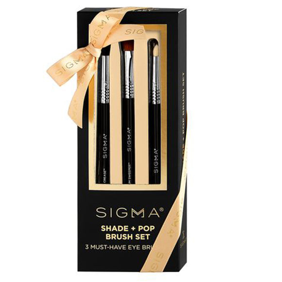 Sigma Beauty Shade + Pop Brush set