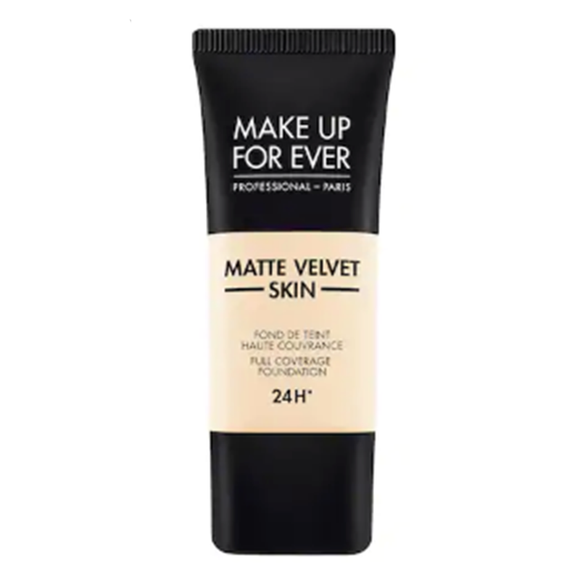 MAKE UP FOR EVER Matte Velvet Skin Full Coverage Foundation -Y205 Alabaster