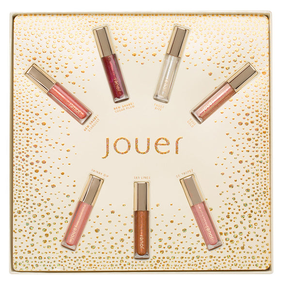 JOUER COSMETICS Best of Lip Toppers Mini Gift Set