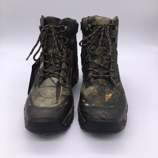 870dec5d539f8 FisherPros Camouflage Winter Waterproof,Outdoor Tactical Fishing Shoe