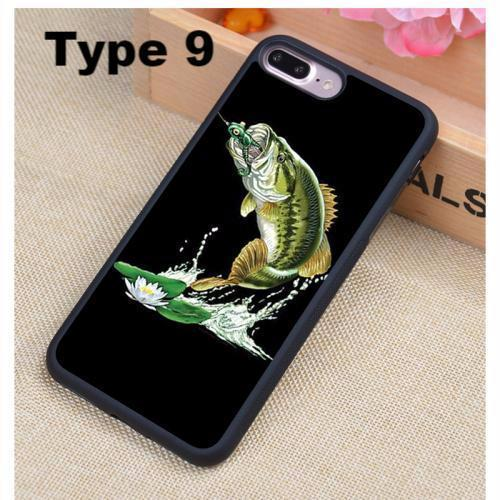 3D Design Fishing iPhone Soft Case