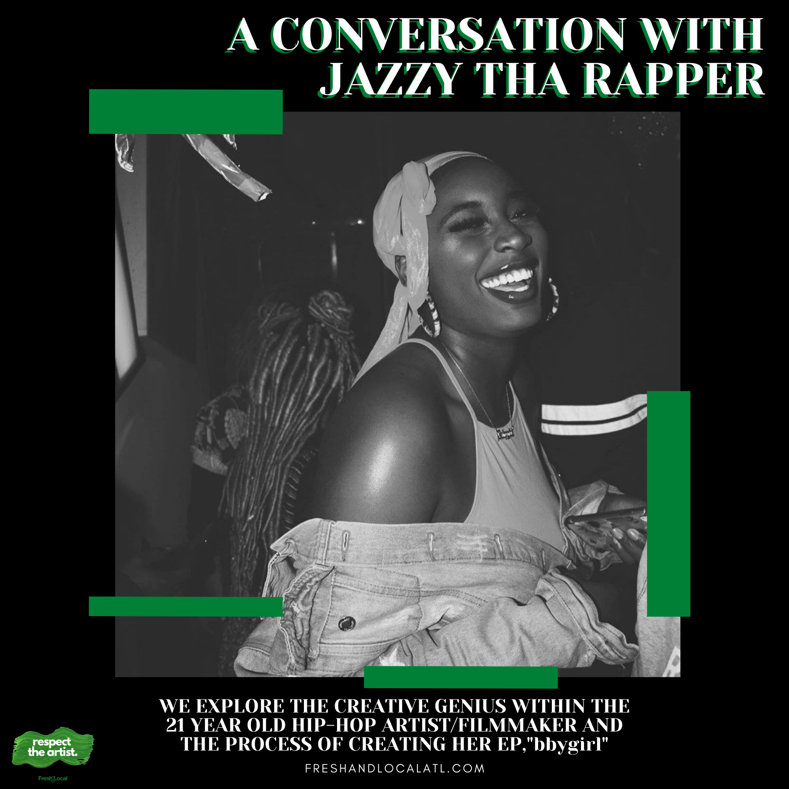 A Conversation with Jazzy Tha Rapper
