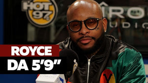 Royce Da 5'9 Blacks Out on 10 Minute Funk Flex Freestyle