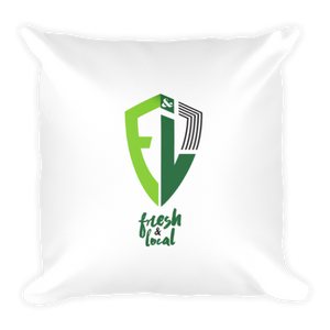 Fresh & Local Pillow (Square)