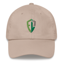 Classic Dad Cap - All Green Shield