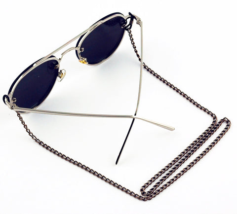 Dora Sunglass Chain- Bronze