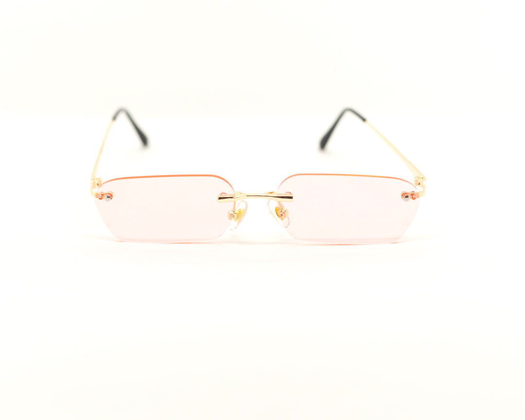 109 Rimless - Gold/Pink