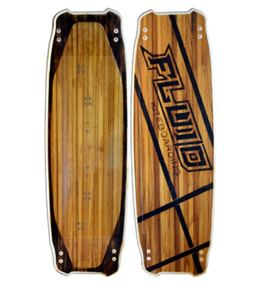 Fluid kiteboarding TWOSEVEN WOOD - Comes with Free Gift! - Lotans Kiteboarding