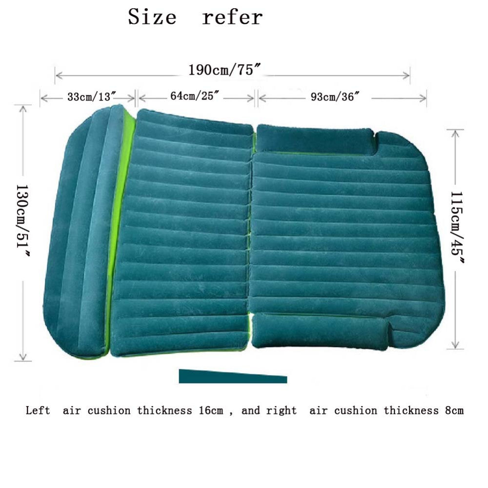 Car Inflatable Mattress With Pump