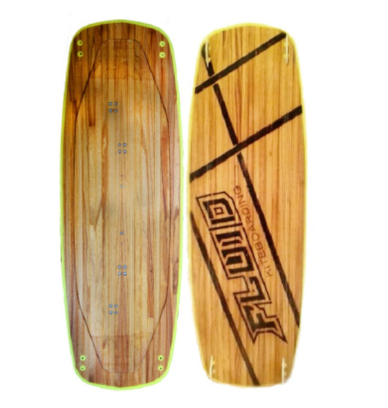 Fluid kiteboarding MINIMALIST WOOD - Comes with Free Gift! - Lotans Kiteboarding