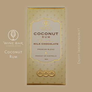 Coconut Rum Milk Chocolate