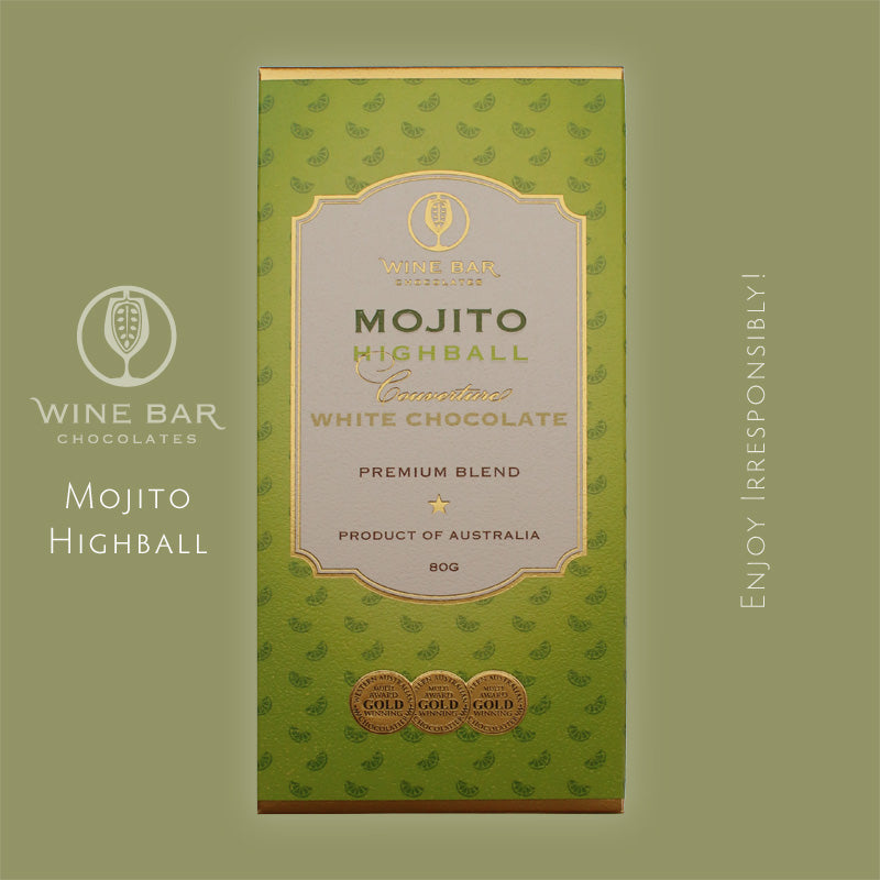 Mojito Highball White Chocolate