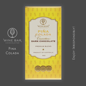 Pina Colada Dark Chocolate