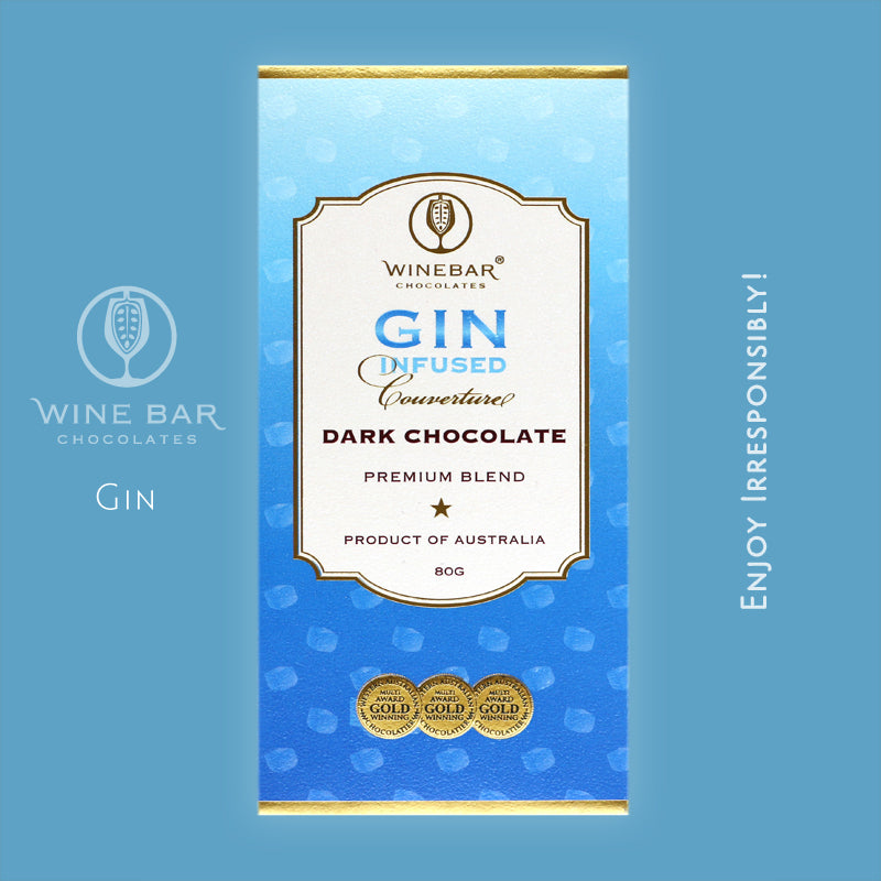 Gin Infused Dark Chocolate