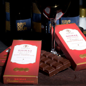 Shiraz Infused Dark Chocolate