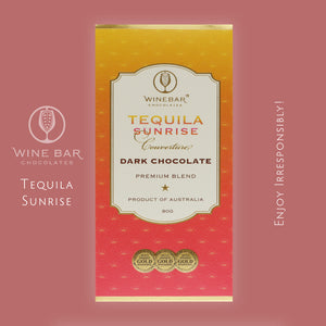 Tequila Sunrise Dark Chocolate