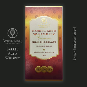 Whiskey Infused Milk Chocolate