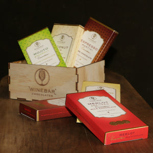 Winebar Chocolates Six Gift Box