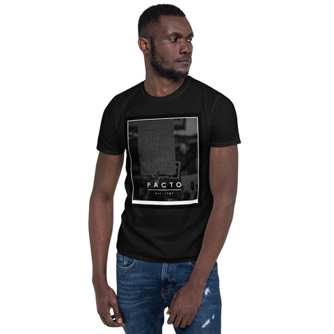 BLM *Stop Killing Black People - Short-Sleeve Unisex T-Shirt