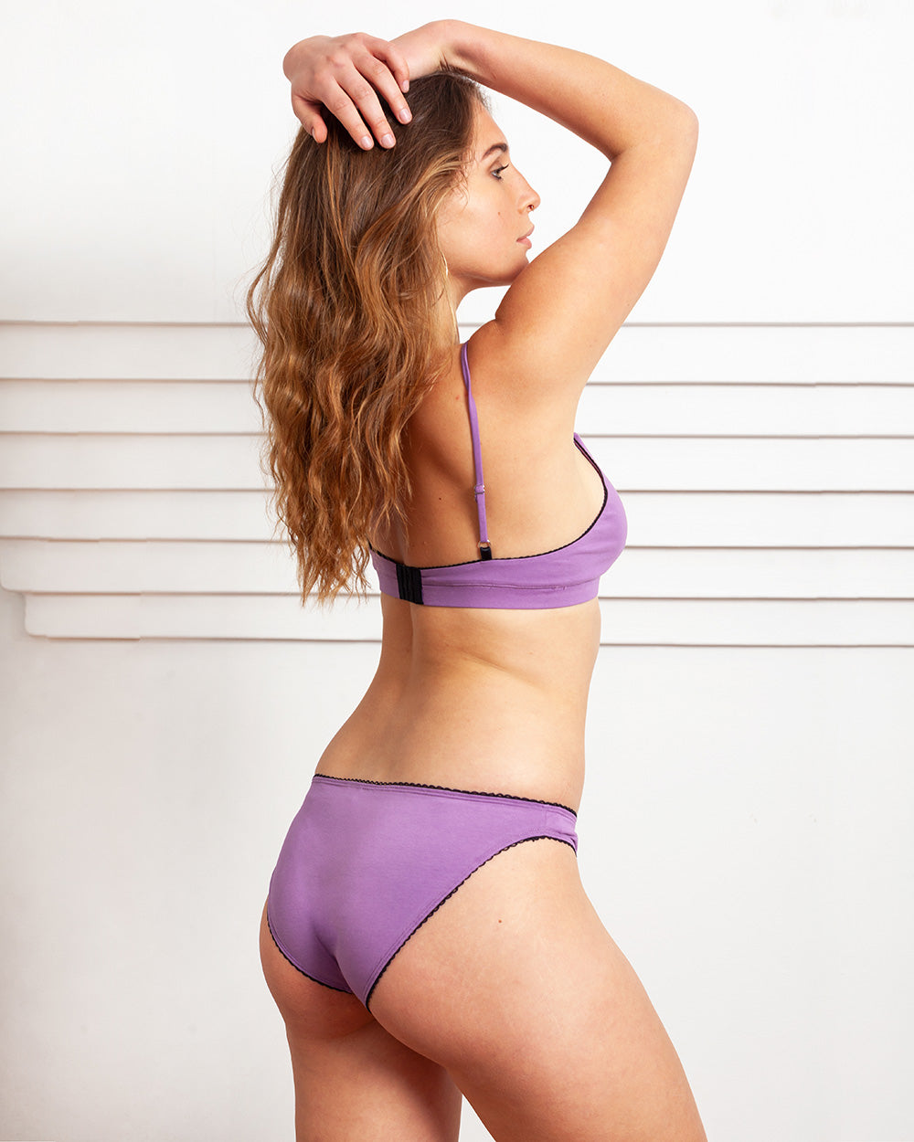Palm Low-Rise Brief In Violet