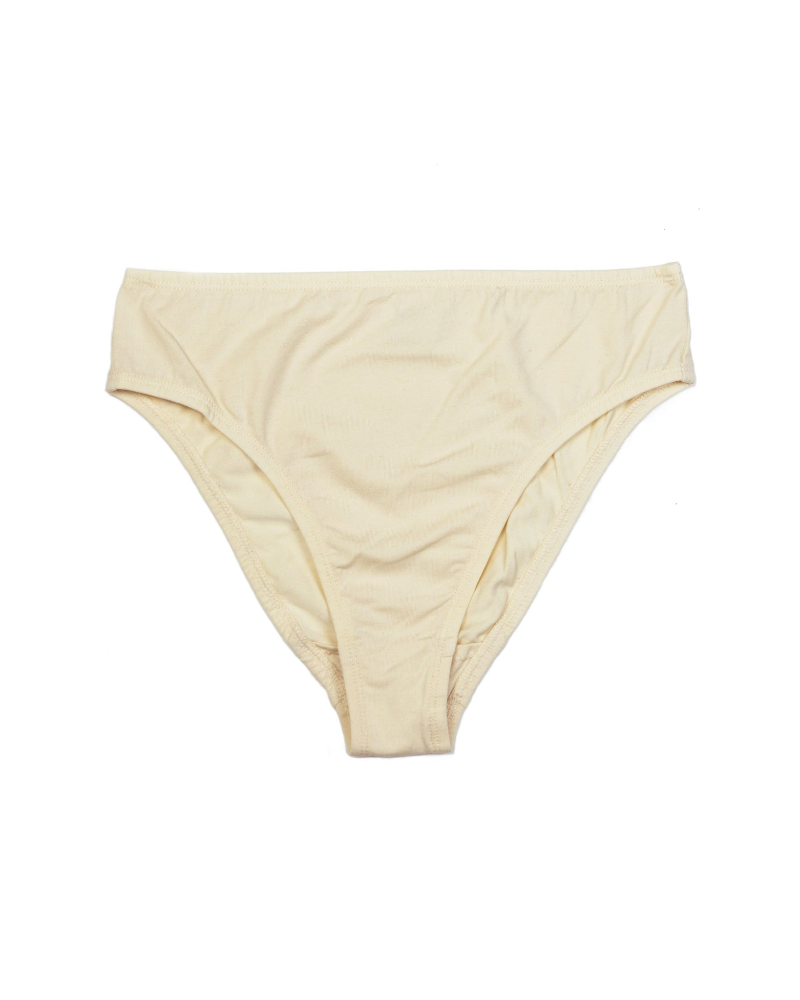 Calla Mid-Rise Brief In Ecru