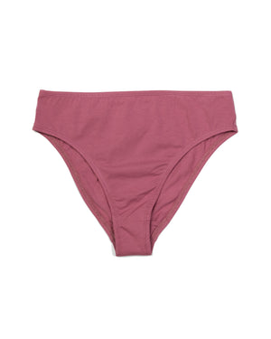 Calla Mid-Rise Brief In Pink
