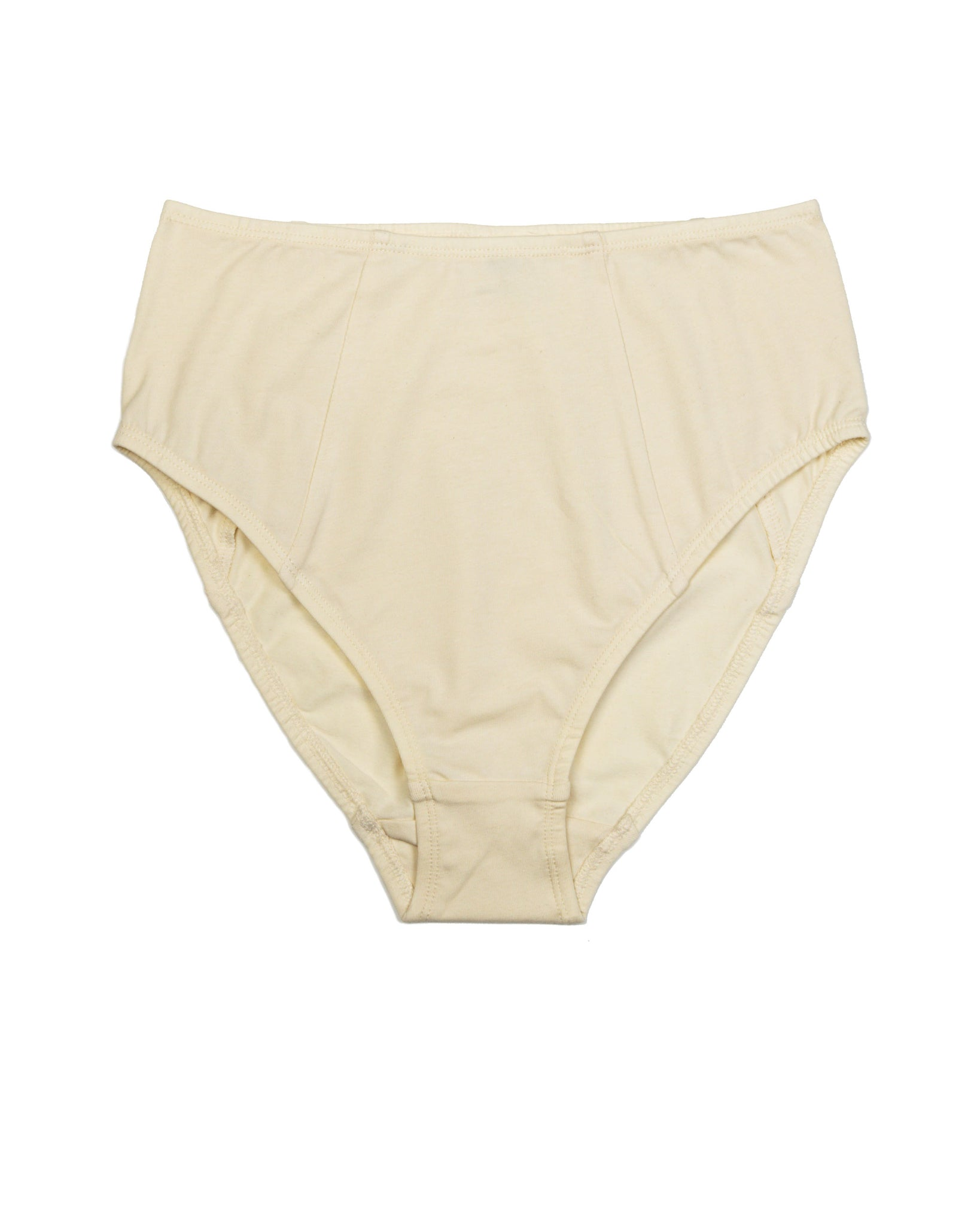 Poppy High Waist Brief In Ecru