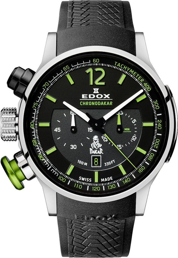Edox Chronorally 1 Limited Edition 'Chronodakar 2015' 10303 TIN NV