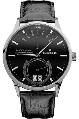 Edox Les Vauberts Day Retrograde 34001 3 NIN