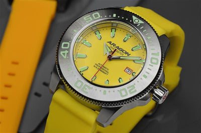 ARAGON Divemaster NH35 45mm A068YEL