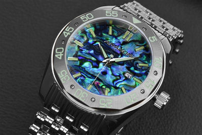 ARAGON Charger Abalone Automatic 50mm A146SLV