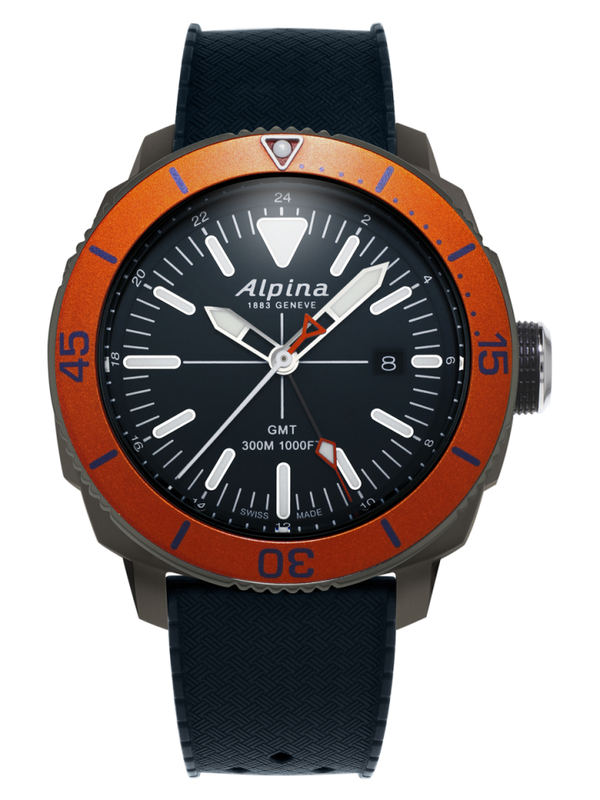 Alpina Seastrong Diver GMT AL-247LNO4TV6