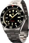 NTH Barracuda Vintage Black No Date