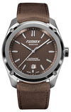 Formex Essence Chronometer Brown Leather