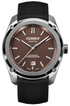 Formex Essence Chronometer Brown Rubber